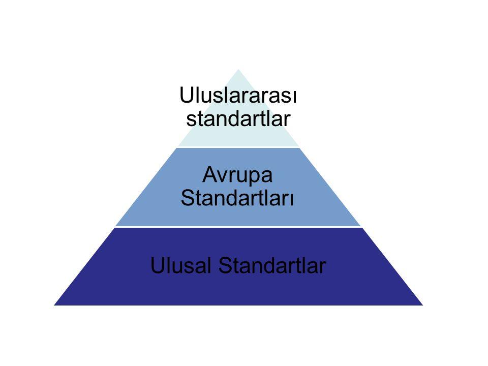 Uluslararası standartlar