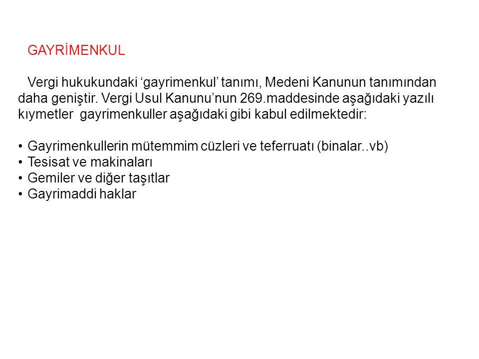 GAYRİMENKUL