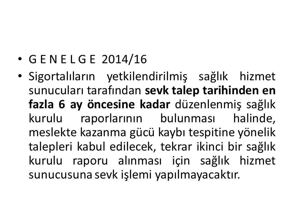 G E N E L G E 2014/16