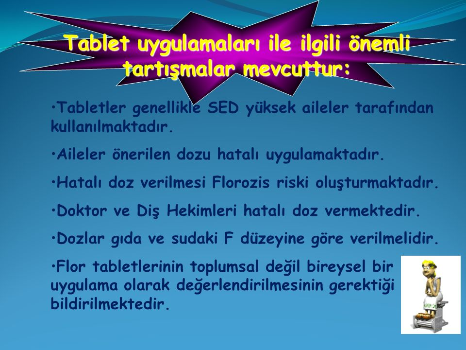 Tablet uygulamaları ile ilgili önemli tartışmalar mevcuttur: