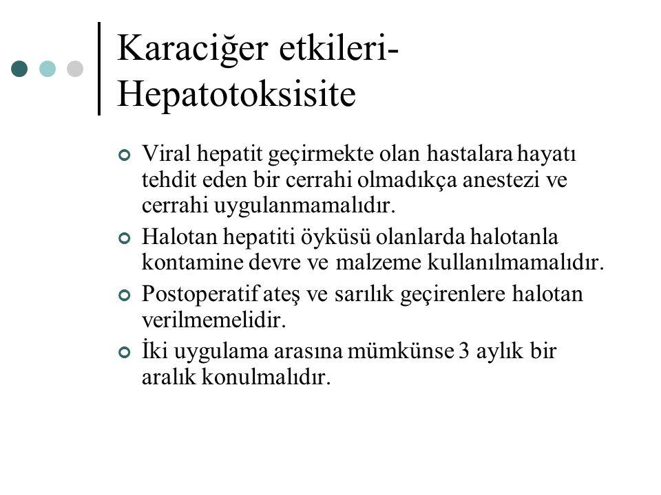 Karaciğer etkileri- Hepatotoksisite