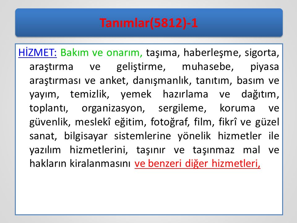 Tanımlar(5812)-1
