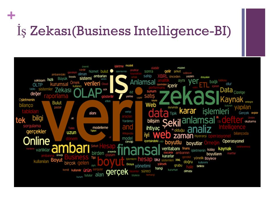 İş Zekası(Business Intelligence-BI)