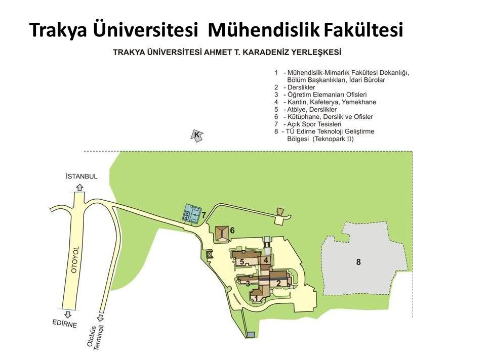 Trakya Üniversitesi Mühendislik Fakültesi