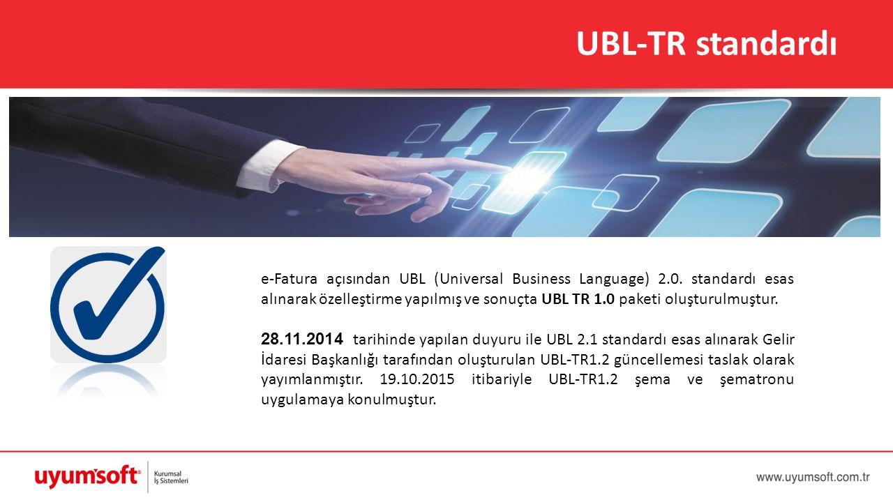 UBL-TR standardı