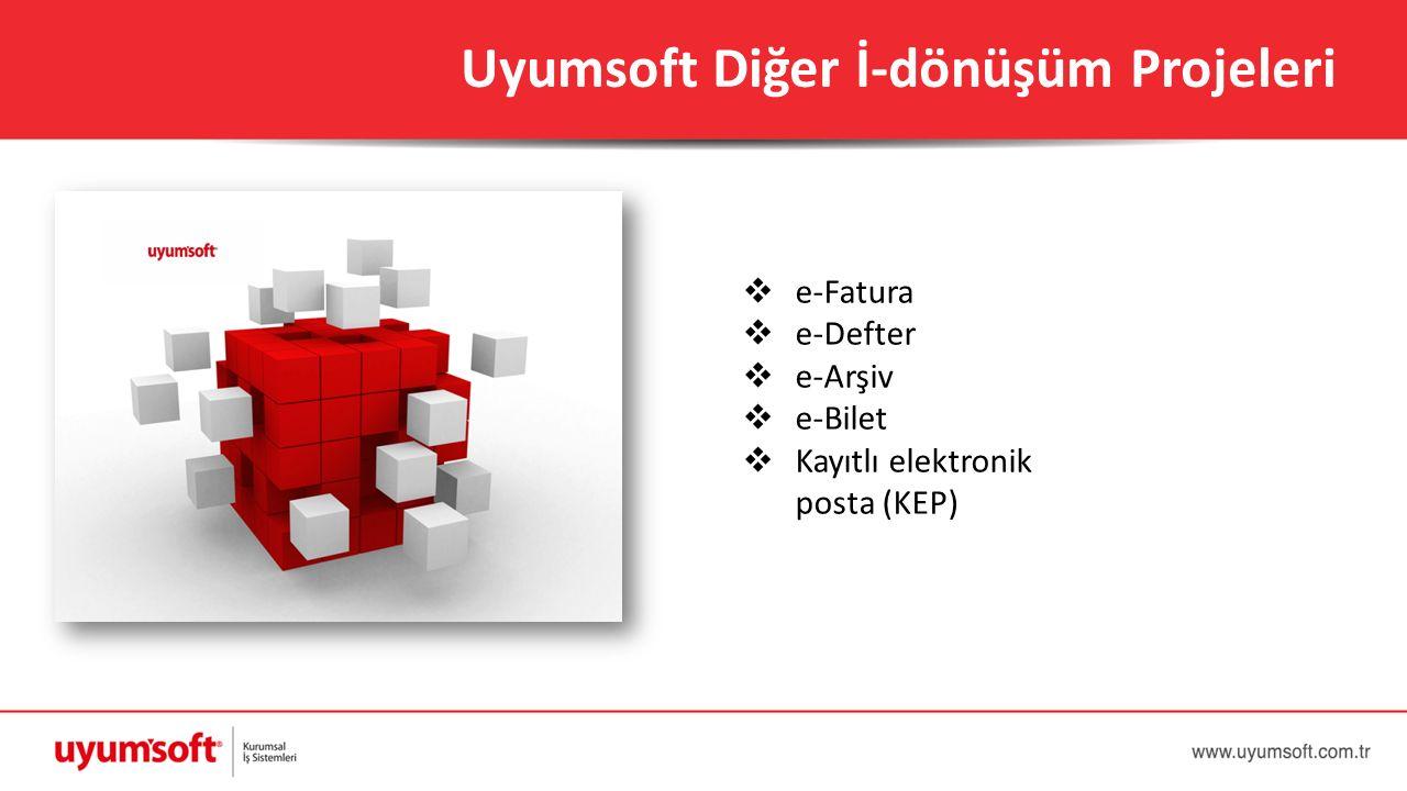 Uyumsoft Diğer İ-dönüşüm Projeleri