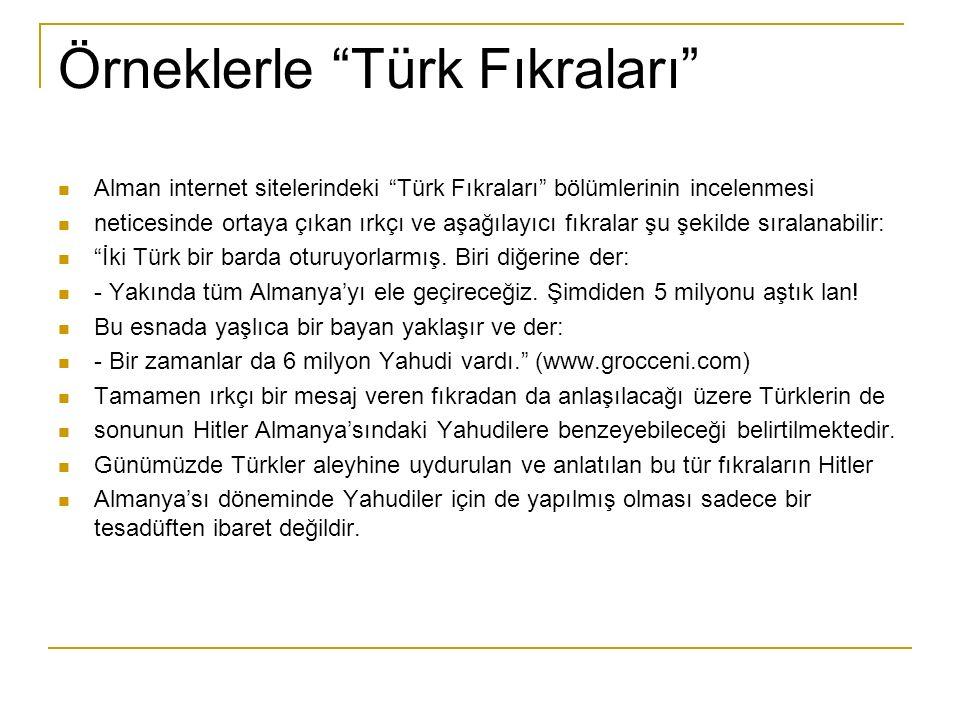 Örneklerle Türk Fıkraları