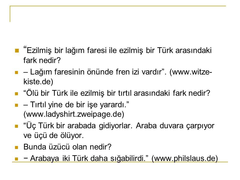 Ezilmiş bir lağım faresi ile ezilmiş bir Türk arasındaki fark nedir
