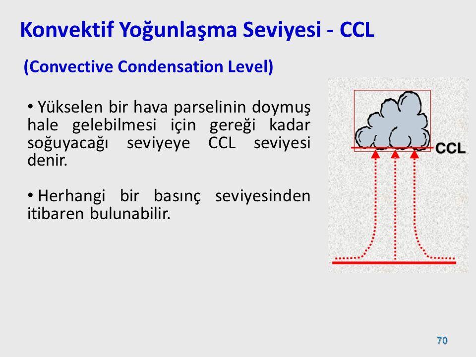 Konvektif Yoğunlaşma Seviyesi - CCL