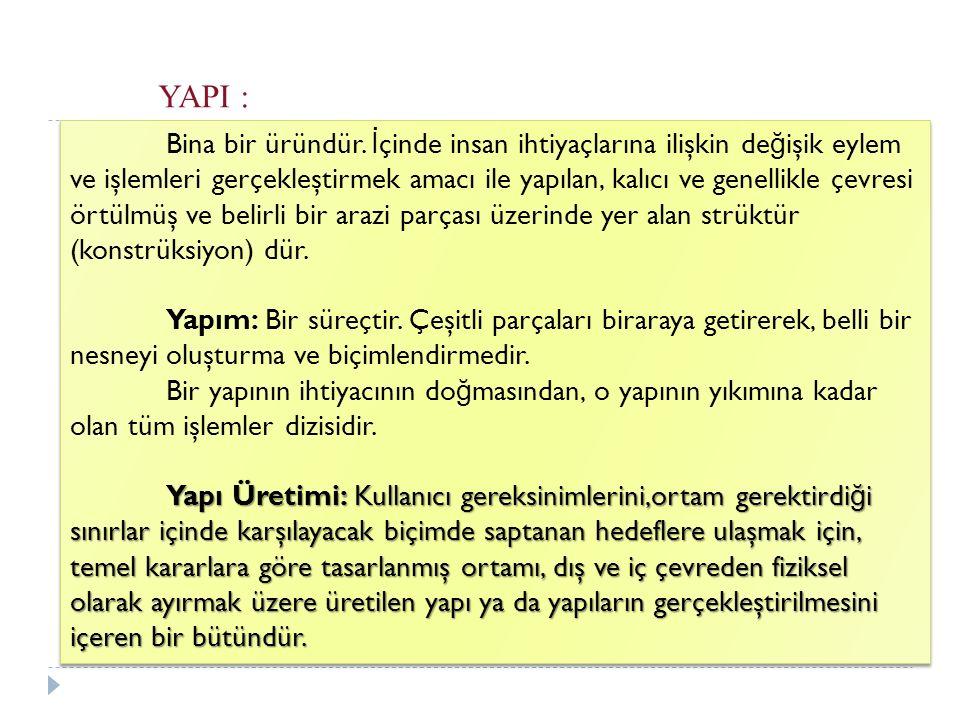 YAPI :