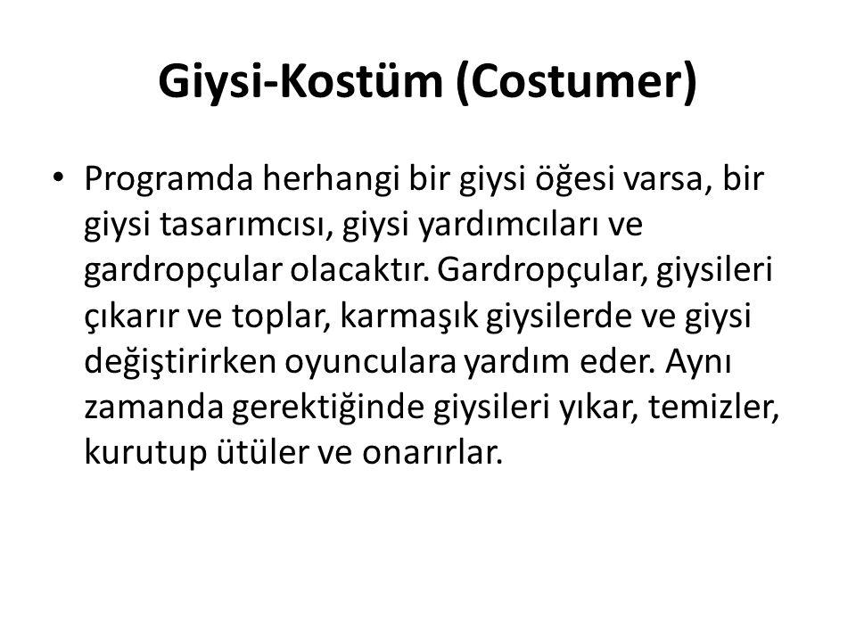 Giysi-Kostüm (Costumer)