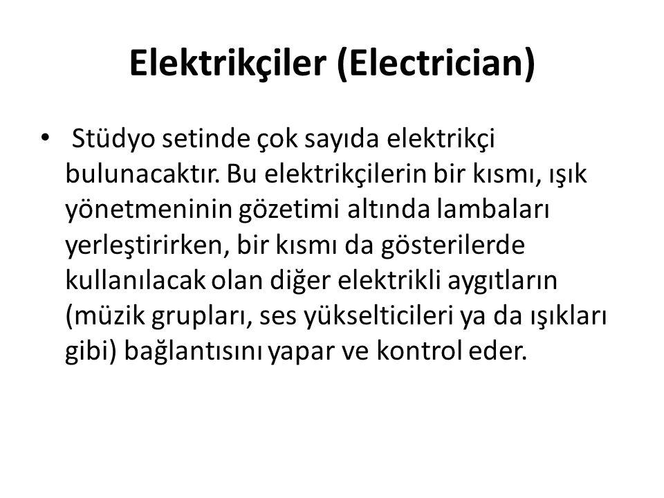 Elektrikçiler (Electrician)