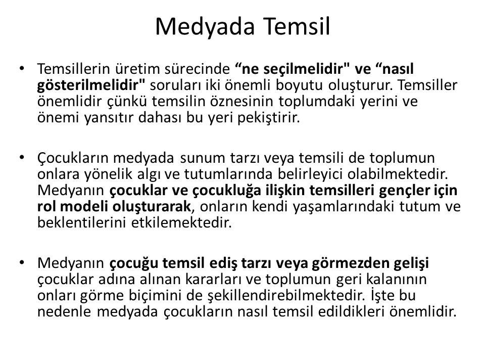 Medyada Temsil