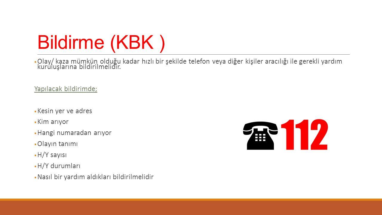 Bildirme (KBK )