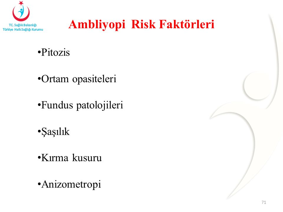 Ambliyopi Risk Faktörleri