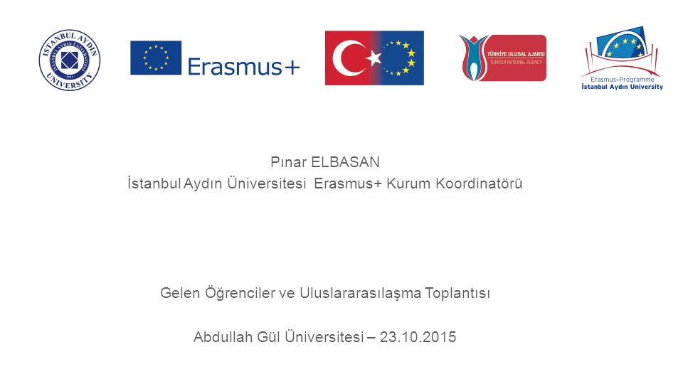 İÇERİK overview Türkiye'de Uluslararası Öğrenciler