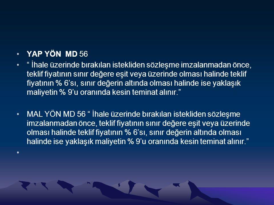 YAP YÖN MD 56