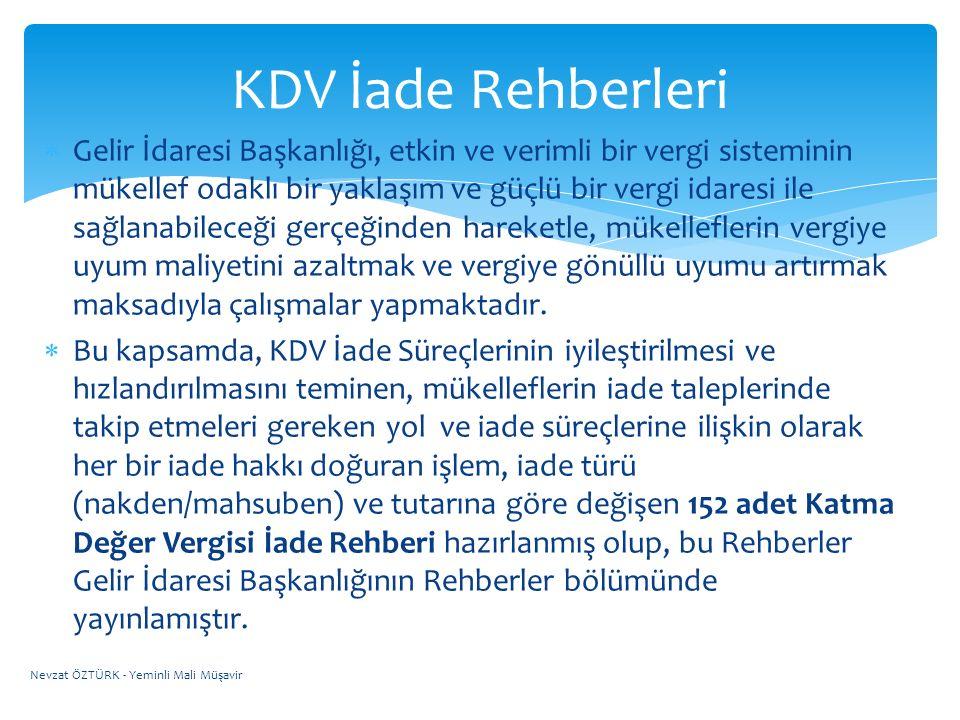 KDV İade Rehberleri
