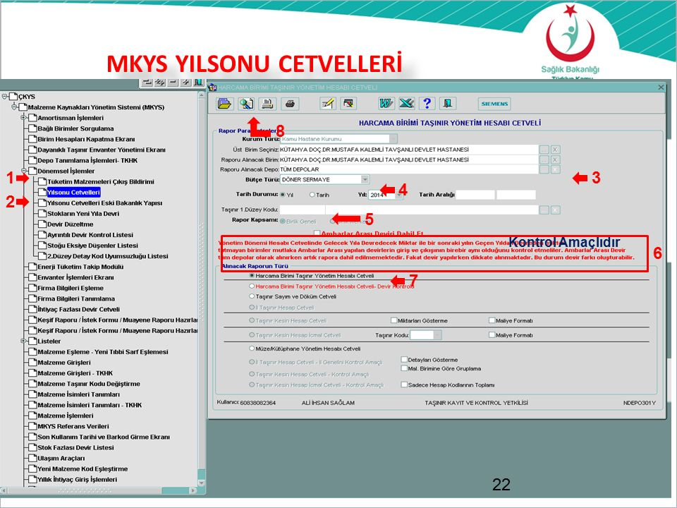 MKYS YILSONU CETVELLERİ