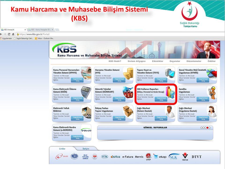 Kamu Harcama ve Muhasebe Bilişim Sistemi (KBS)