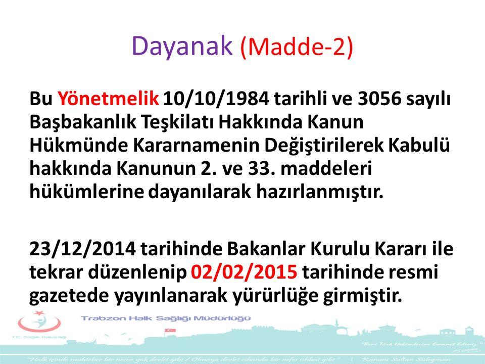 Dayanak (Madde-2)