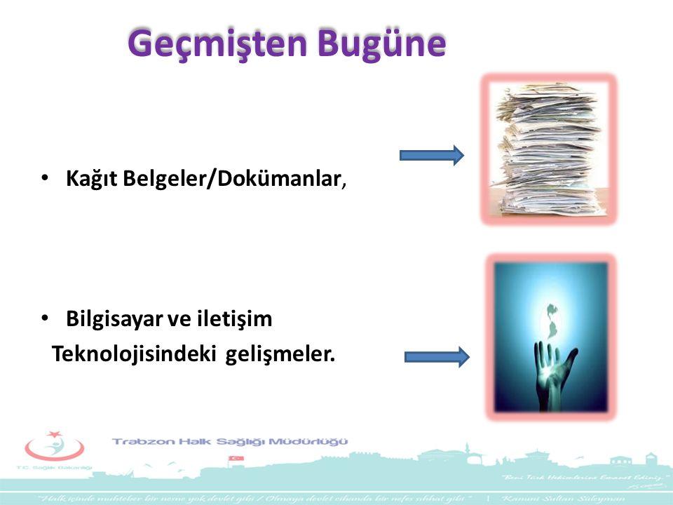 Geçmişten Bugüne Kağıt Belgeler/Dokümanlar, Bilgisayar ve iletişim