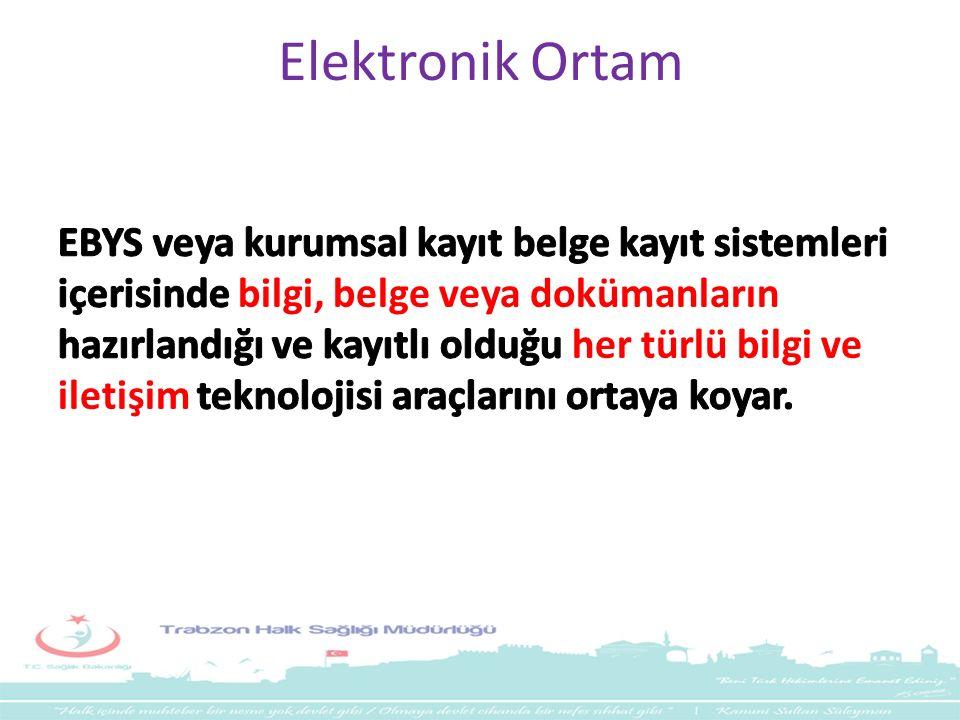 Elektronik Ortam