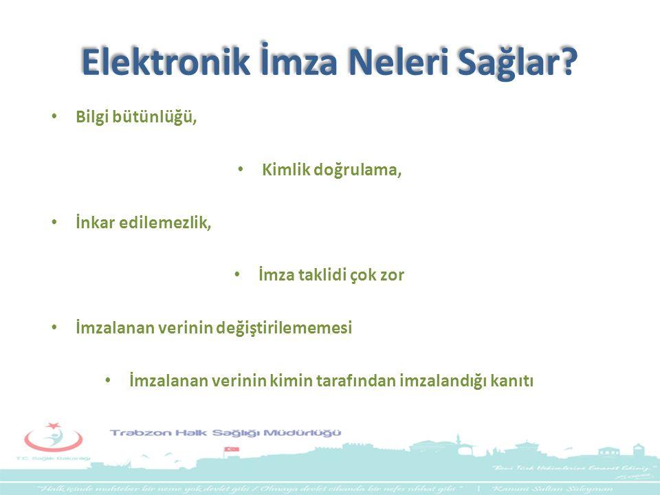 Elektronik İmza Neleri Sağlar