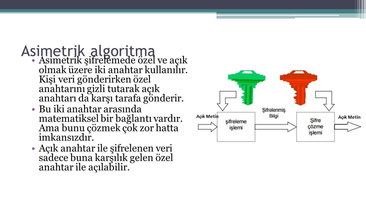 Asimetrik algoritma
