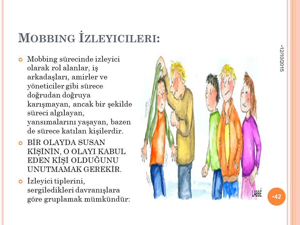 Mobbing İzleyicileri: