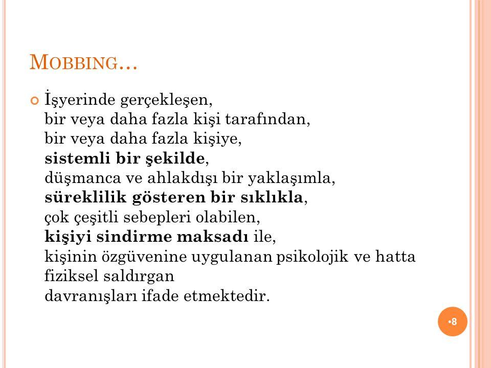 Mobbing…