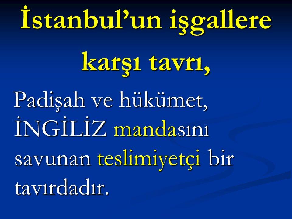 İstanbul'un işgallere