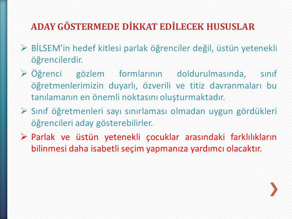 ADAY GÖSTERMEDE DİKKAT EDİLECEK HUSUSLAR
