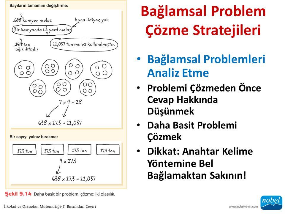 Bağlamsal Problem Çözme Stratejileri