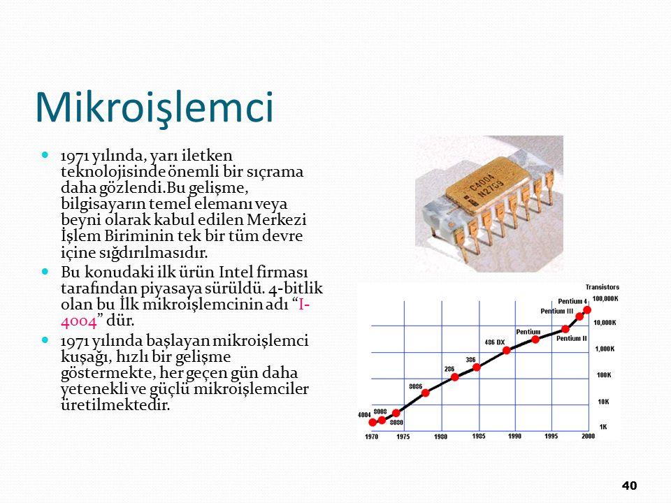 Mikroişlemci