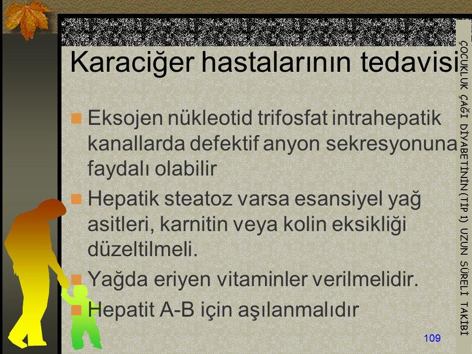 Karaciğer hastalarının tedavisi
