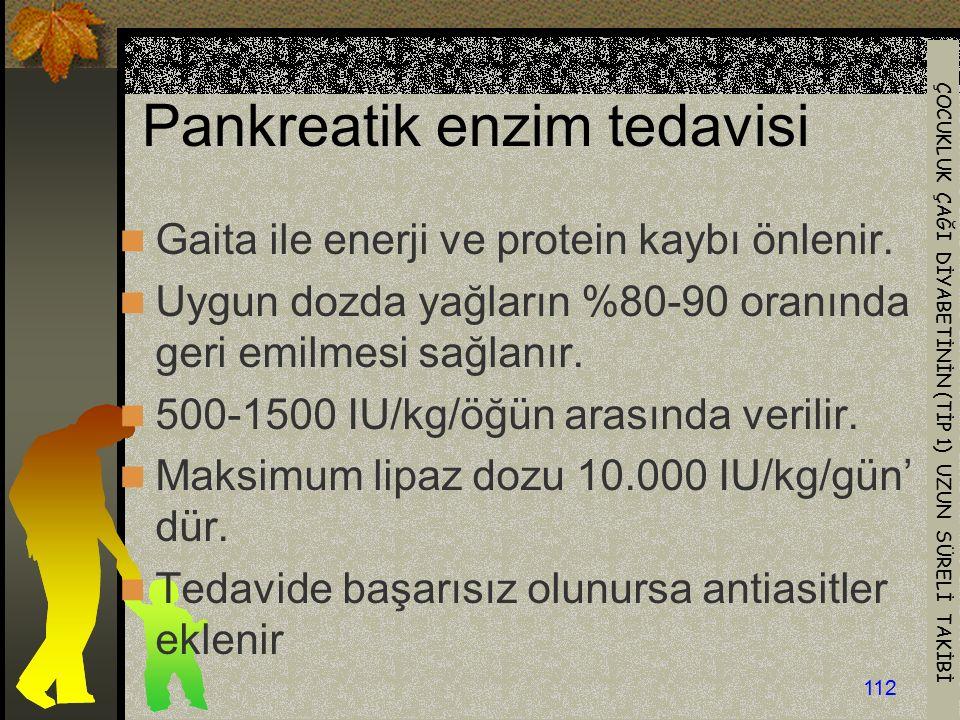 Pankreatik enzim tedavisi
