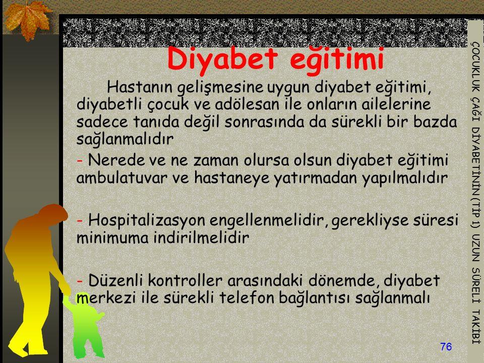 Diyabet eğitimi
