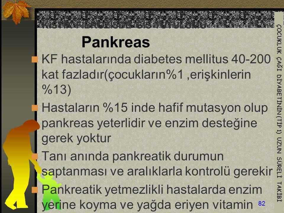 KİSTİK FİBROZİSDE GİS TUTULUMU Pankreas