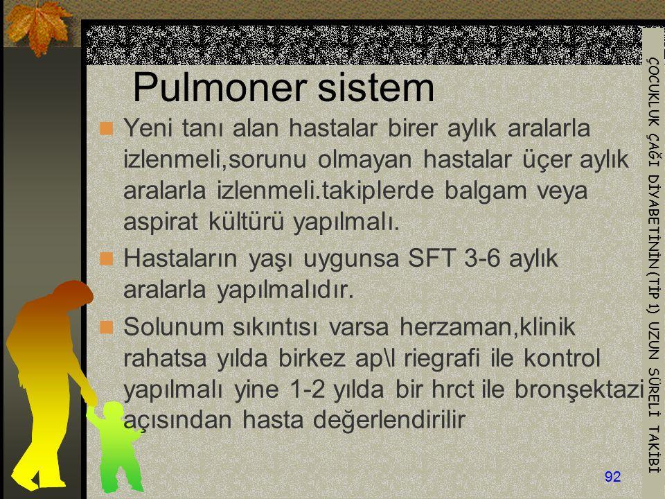 Pulmoner sistem