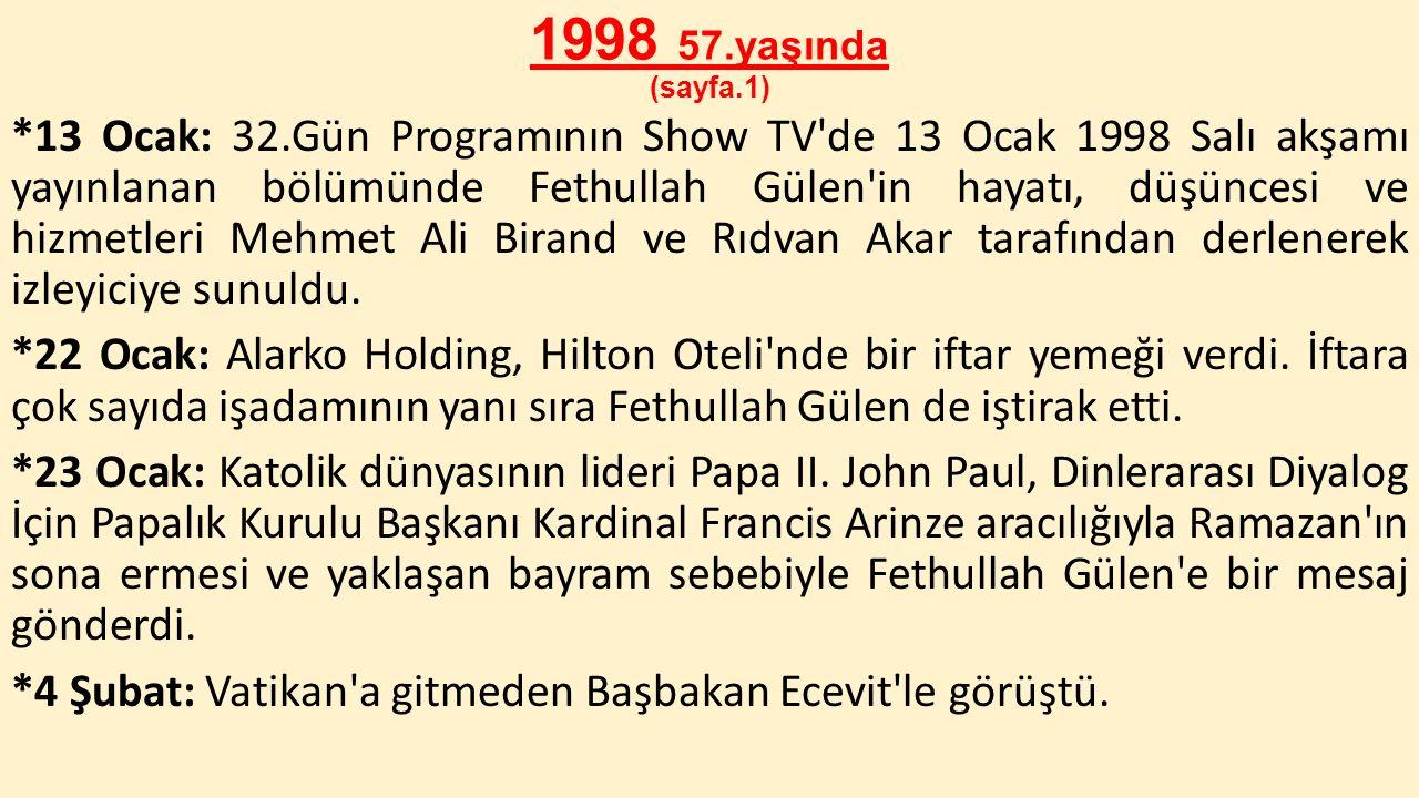 1998 57.yaşında (sayfa.1)