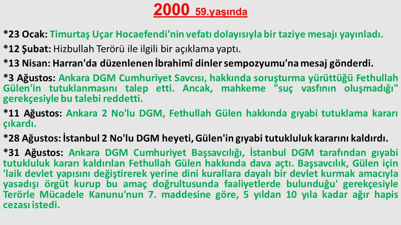 2000 59.yaşında