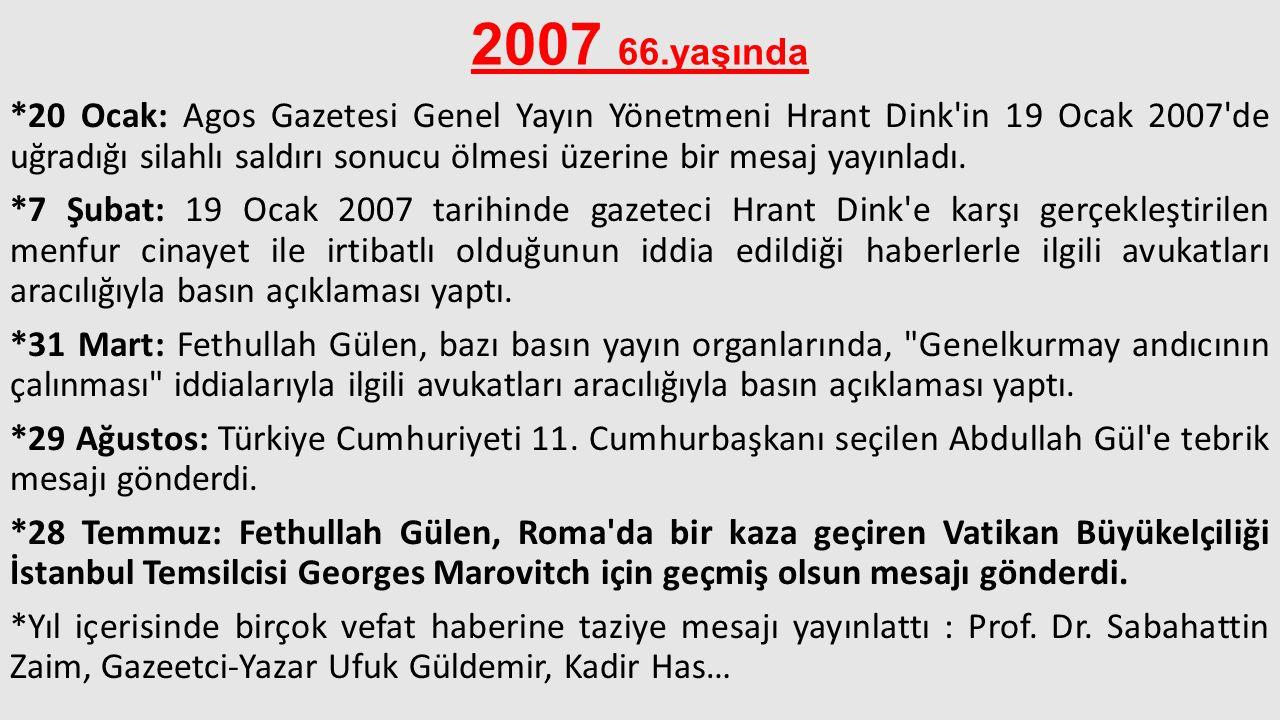 2007 66.yaşında