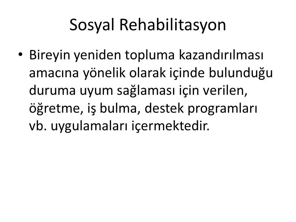 Sosyal Rehabilitasyon