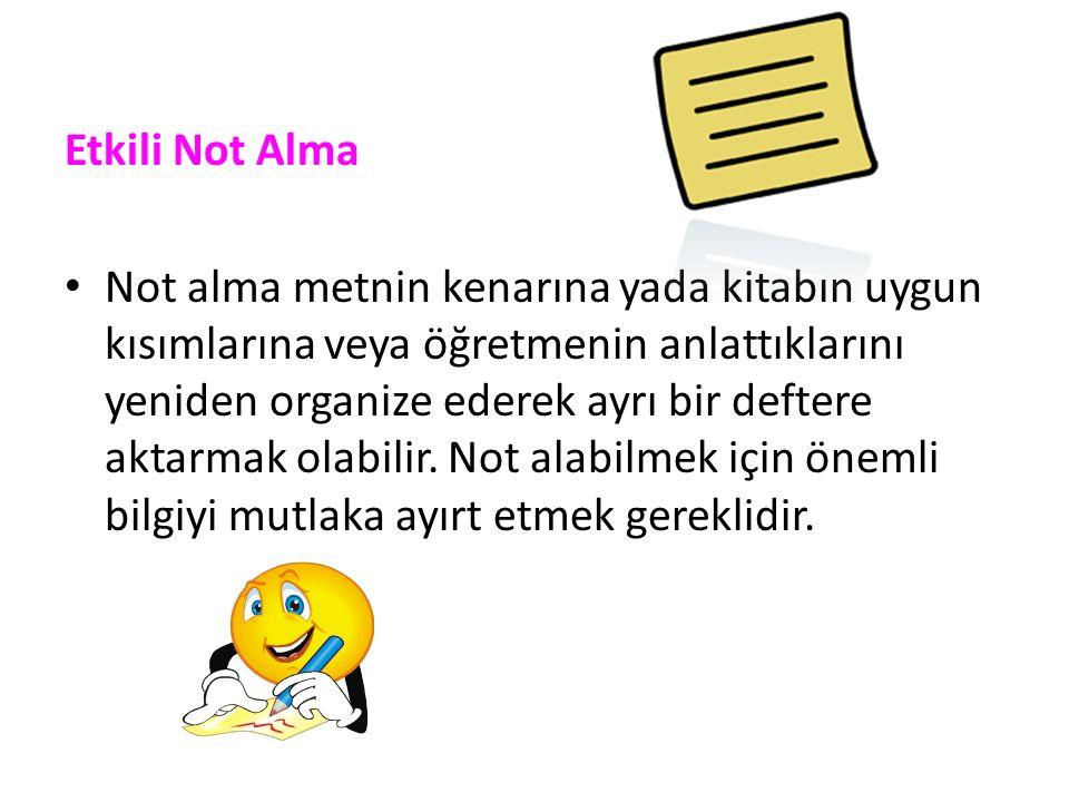 Etkili Not Alma