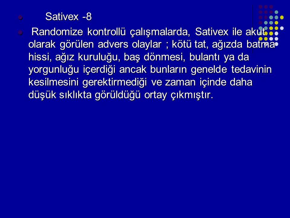 Sativex -8