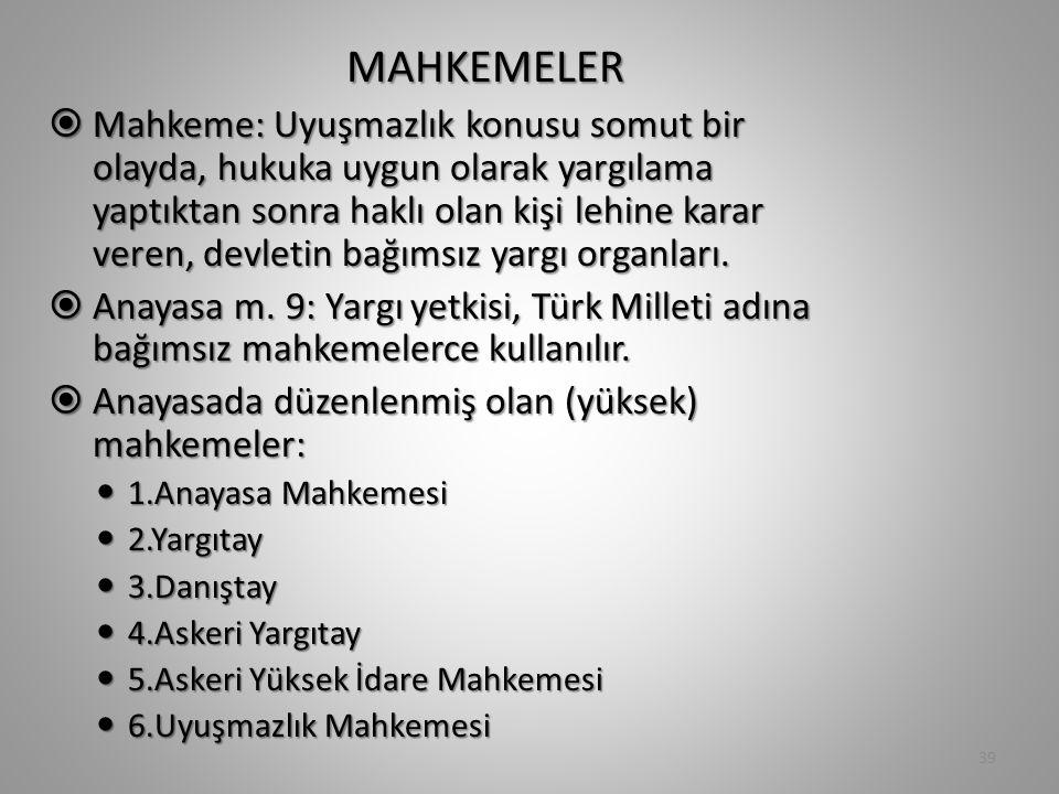 MAHKEMELER