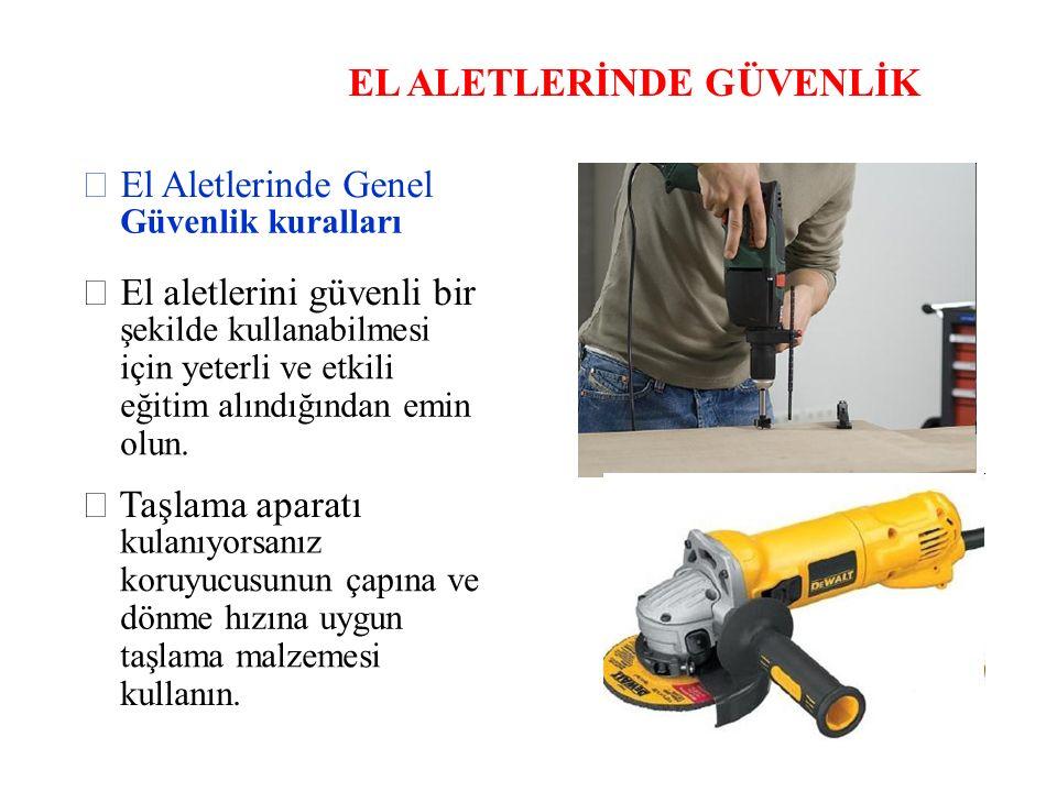 EL ALETLERİNDE GÜVENLİK