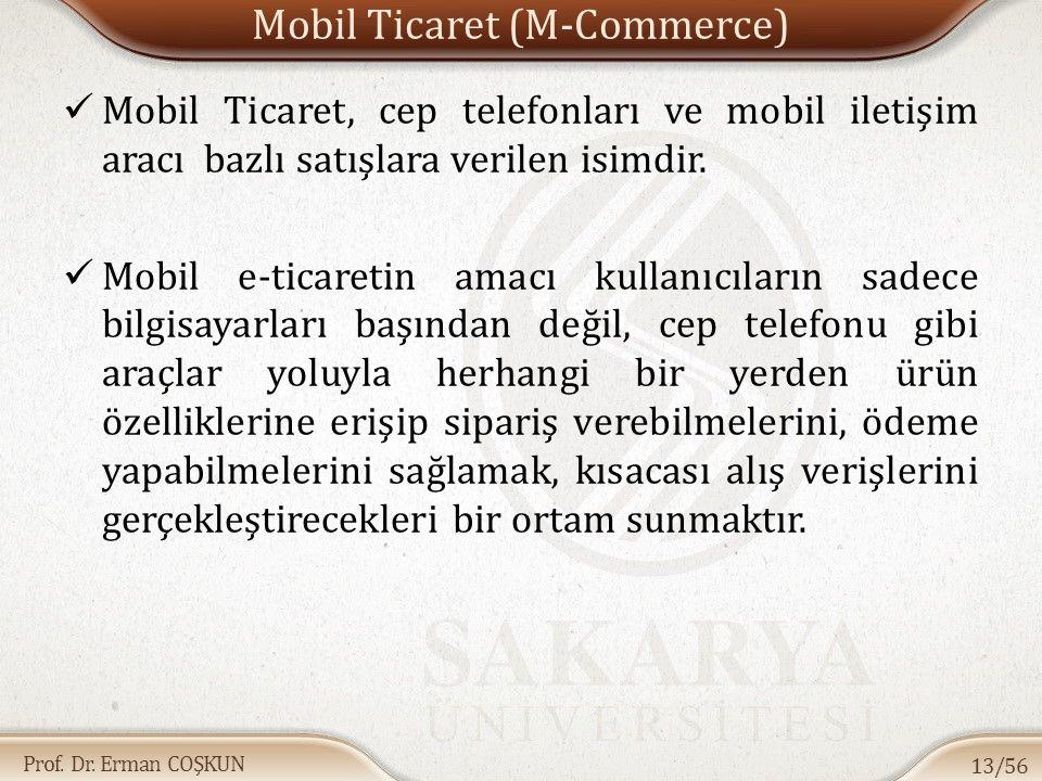 Mobil Ticaret (M-Commerce)