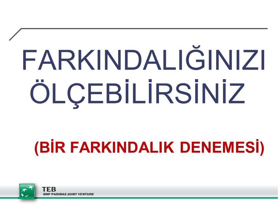 (BİR FARKINDALIK DENEMESİ)